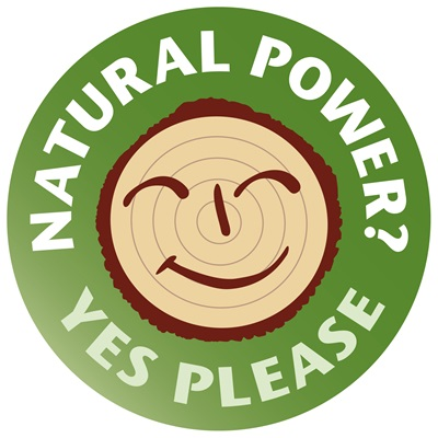 Natural power? - Yes, please logo