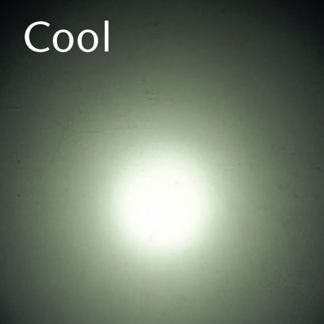 Customized color temperature cool